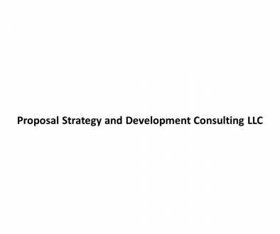 Proposal Strategy and Development Consulting LLC